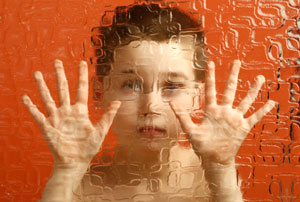 Child with autism.