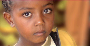 Ethiopian Girl - photo courtesy of Christian World Adoption