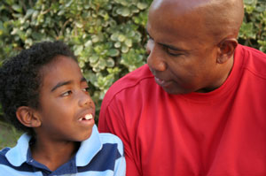 Positive parenting means focusing on the positive rather than the negative.